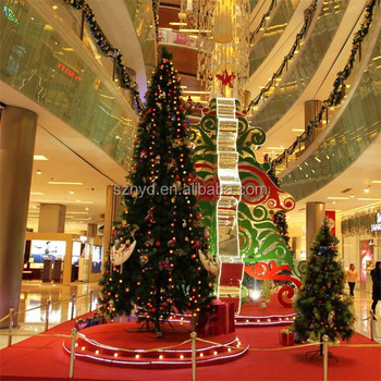 giant christmas tree christmas scenes for indoor large shopping mall decorations - Indoor Decorative Christmas Trees