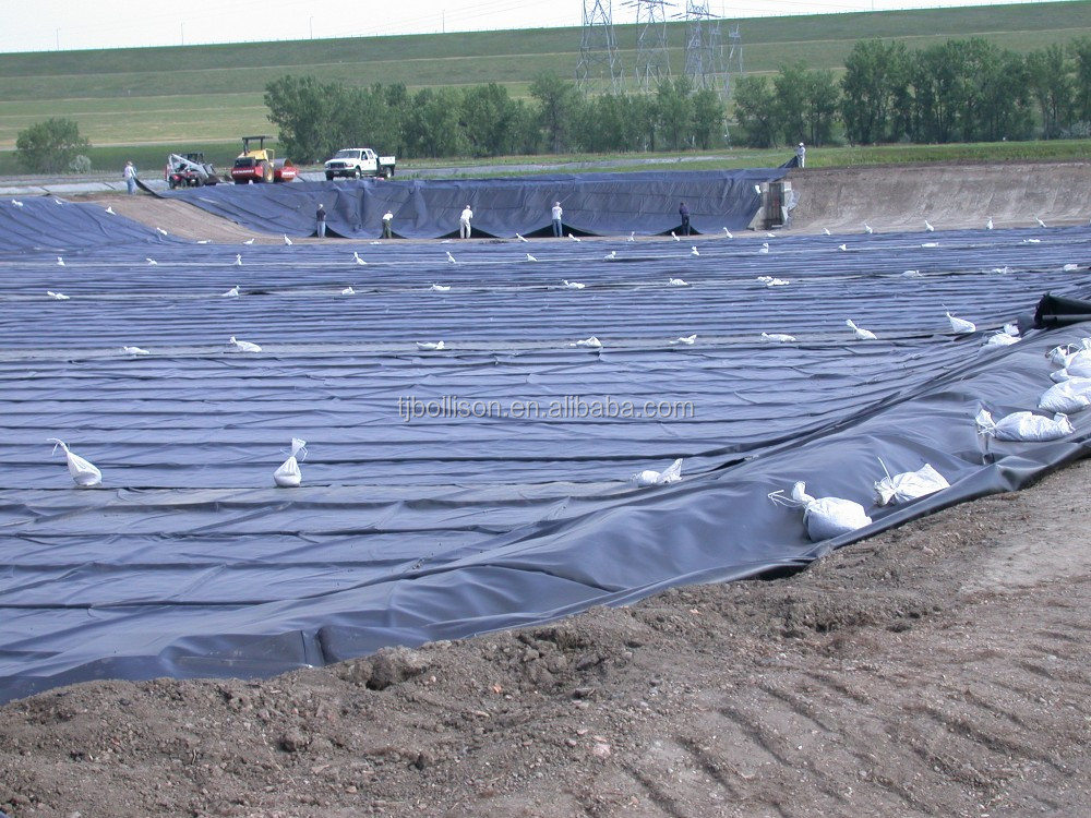 Heavy Duty Hdpe Pond Liner Black Pvc Pond Liner Flexible