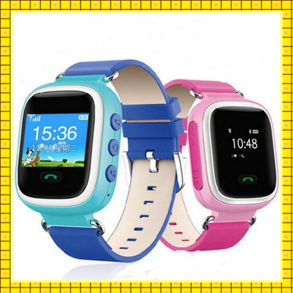 2016 GPS/LBS SOS Remote monitor Phone calls smart watch gps for kids