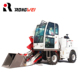 moving type construction equipment 1.2m3 mini small concrete mixer truck
