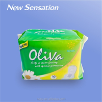 Top Quality Anion Chip Sanitary Napkin with Negative Ion Low Price in Guangdong Factory LS001