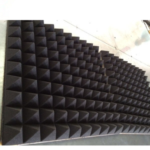 Acoustic absorption noise proof mic booth shield karaoke room pyramid acoustic foam high absorbent