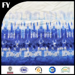 Custom high quality print digital factory 100 polyester tricot fabric