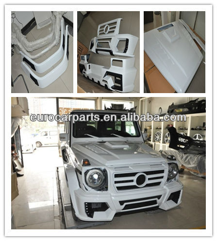 High Quality W Style Body Kit Conversion Kit Fitting For Mb G Class