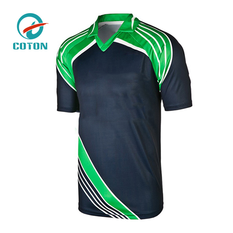 Custom Your Own Design 100% Polyester Cricket Shirts