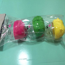 3 PK plastic easter egg bunny candy container fillable egg