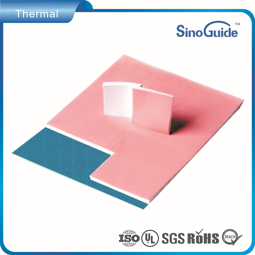 Low Hardness Thermal Conductive Fiberglass Reinforced Gap Filler Pad