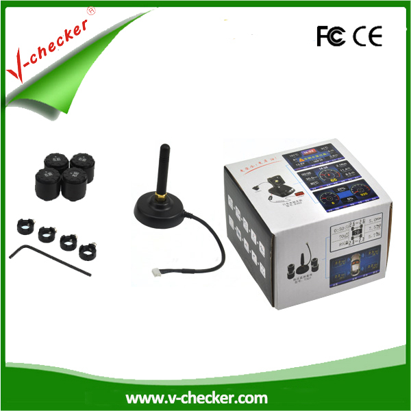 Universal tire pressure monitor system sensors tire safety system for wholesales