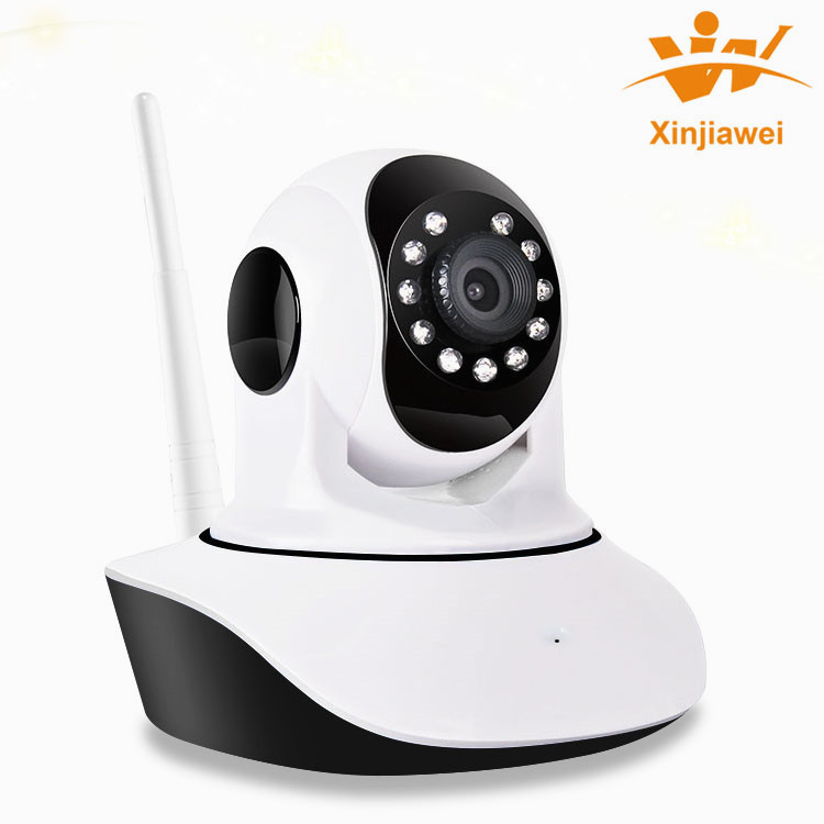 Advanced Compression 720P Indoor Home Pan-tilt Zoom PP WPS AP IP Wi-Fi Cameras