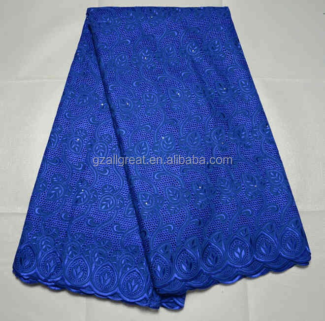 AG2668#3 High quality african swiss voile lace in switzerland heavy african swiss voile lace