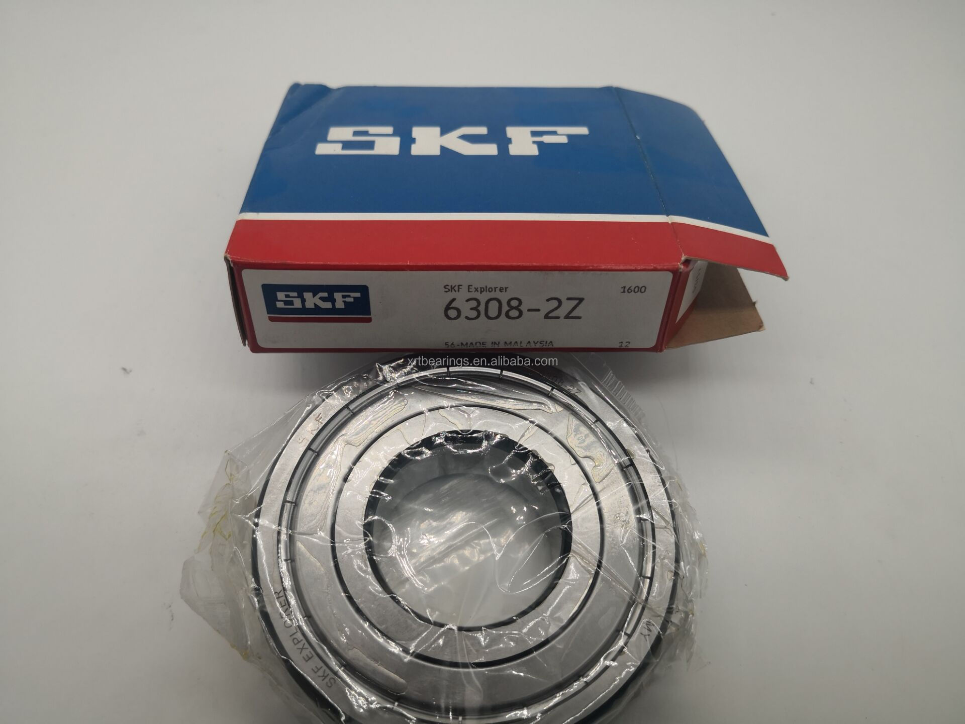 SKF 6308-2RS1//C3 Single Row Ball Bearing