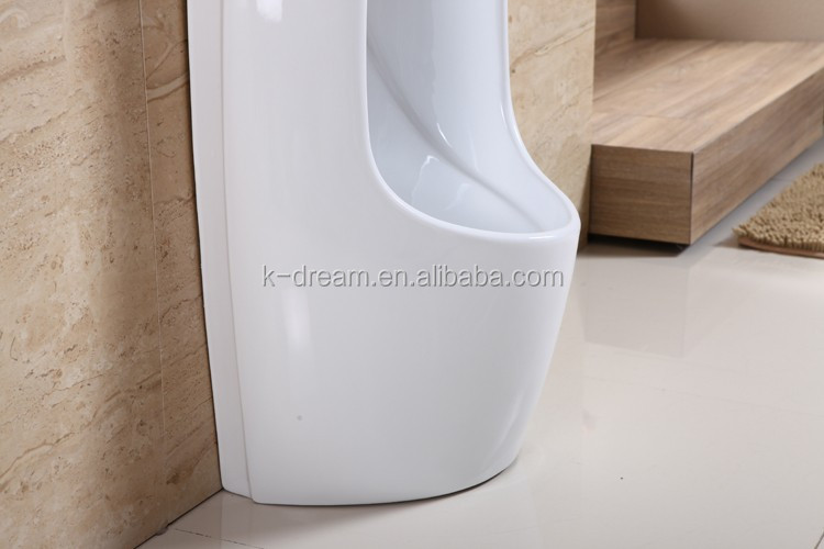 Public Ceramic Wall Hung Men Urinal For Sale, Floor Mounted Urinal, Urine  Container KD