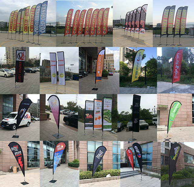 2018 top selling advertising outdoor promotional cheap 12ft feather flags banner