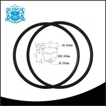 High Strength Wholesale 593 Erd 30mm Width China Carbon Rim