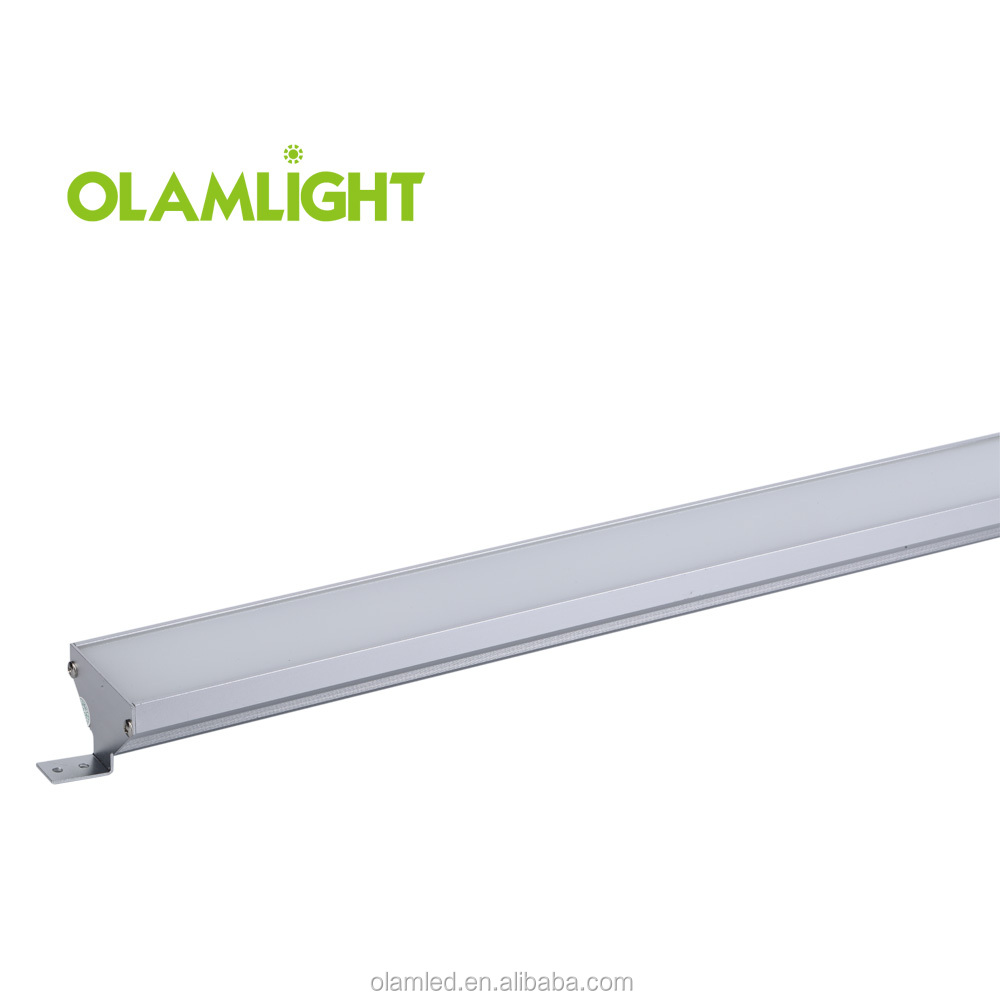 High power 60w linear led lights 5feet slim ceiling batten led lighting tube with 3 years warranty