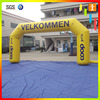 Outdoor Advertising Inflatable Arch with your logo printing