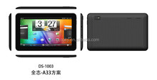 Low cost 10 inch Android Quad core Tablet pc 1GB 8GB in bulk