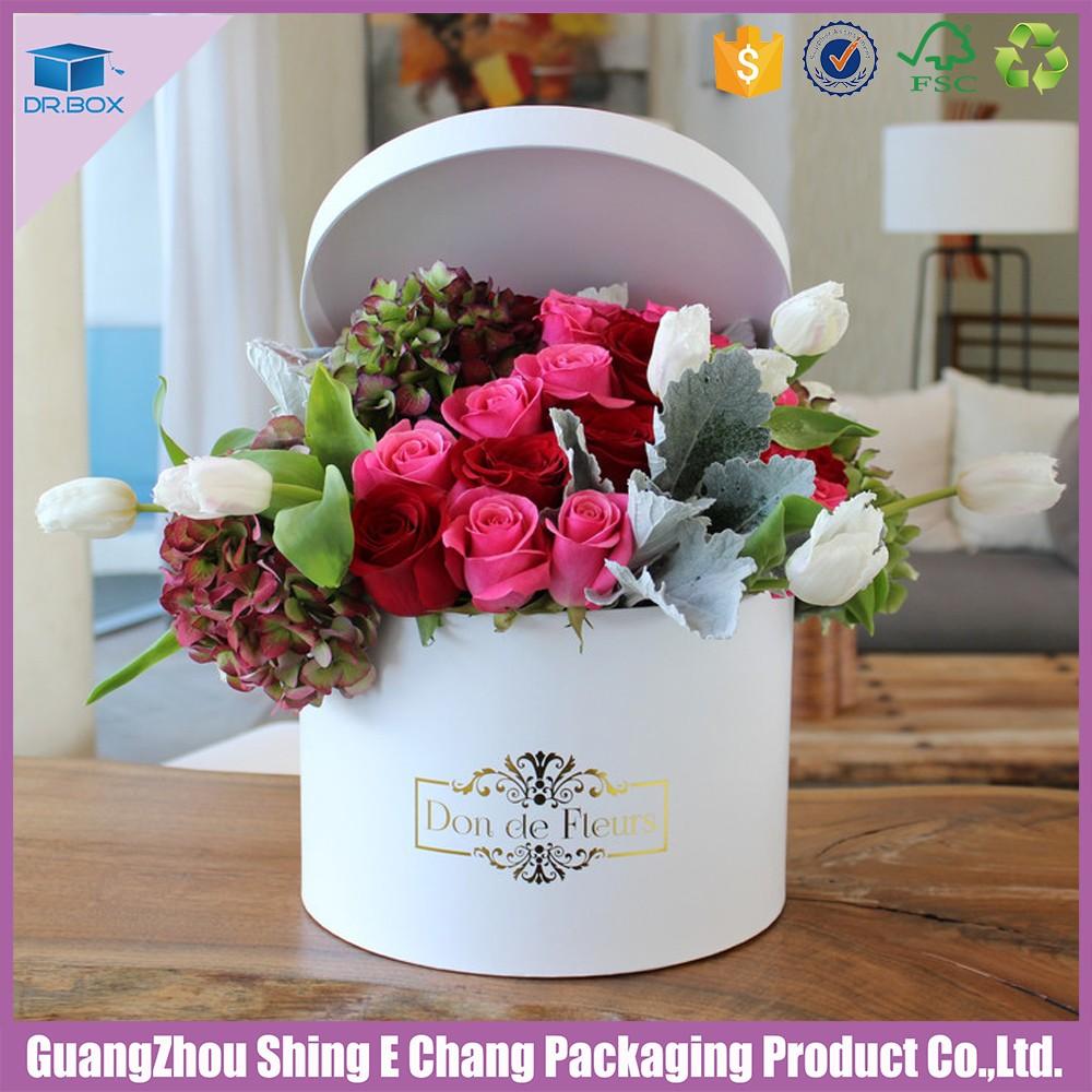 Bouquet De Fleurs Boite