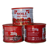 Tin tomato paste in can tomato paste production line