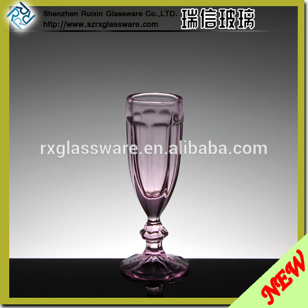 OEM hand painted glass candle holder factory