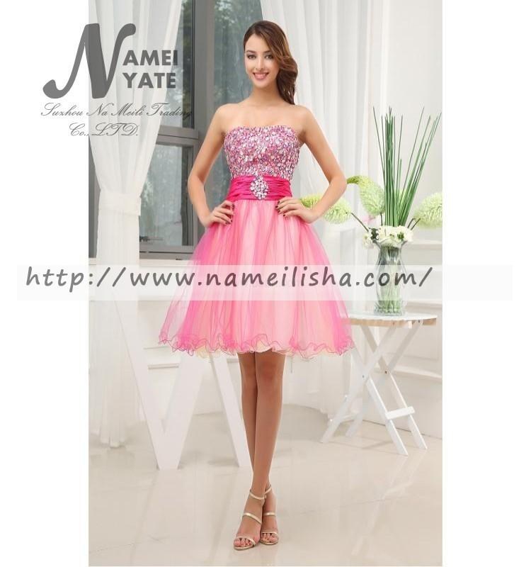 Venta al por mayor vestidos para recepcion cortos-Compre online los ...
