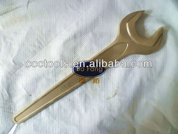 Bofang brand tools 17mm non-sparking single open end wrench
