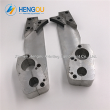 Silver color GTO spare parts for numbering machine offset Printing Machinery Replacements
