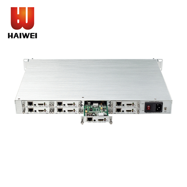 Haiwei H.264 H.265 mpeg 4 avc ip 8 canali hdmi video encoder