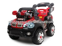 R/C & Foot-step Ride On Car with Music and Light Parental Control Car