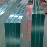 Super strong stormproof safety SGP toughened laminated glass supplier