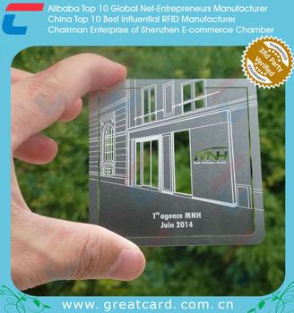Blank Aluminum Business Card Buy Aluminum Business Card Blank