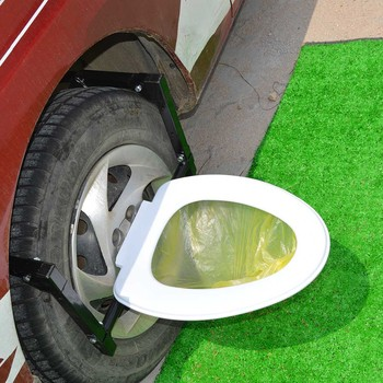 Portable Camp Toilet For Car And Tire Step Buy Wild