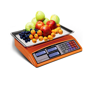Acs series 30kg barcode supermarket fruit weight scale rs232
