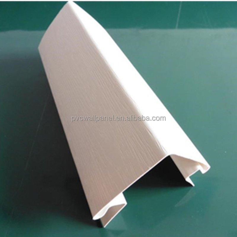 1.0mm thick thermal insulation decorative materials light steel room plastic angles profile outside corner pvc corner trim