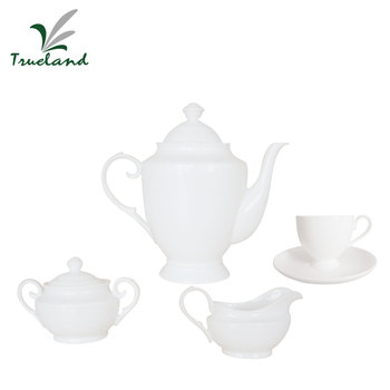 Newest Design Custom Porcelain Tea Set
