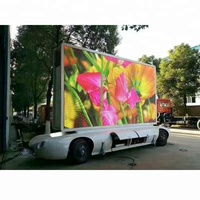 high clarity motor tractor LED propaganda mobile billboard trailer for sale