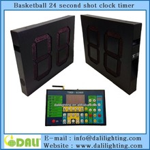 "LED shot clock 24"" seconds for basketball"