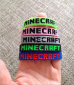 5pcs lot Minecraft Bracelets model 5 color men women sports Silicone Bracelet model Party Favors gifts
