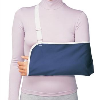 Transpirable cabestrillo de brazo hombro inmovilizador ajustable Universal  cabestrillo de brazo 3619ca59f2f3