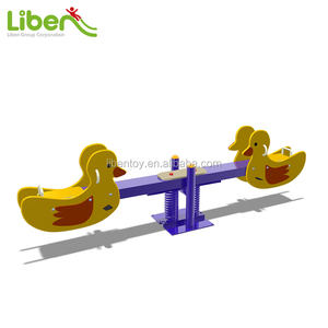 New Design Children Playground Wooden Seesaw Seat Leqb003