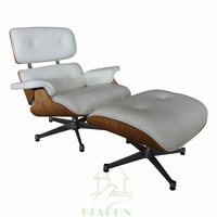 Luxury Version Office Lounge Chair with Footrest