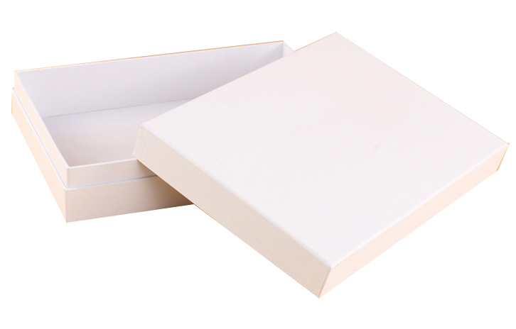 China Eco Friendly White Paper Box With Lid For Shirt Or