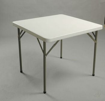 34inch square folding table