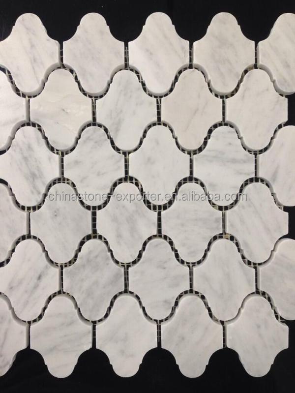 italienischen fliesen naturstein mosaik wei em marmor mosaik fliesen formen italien bianco. Black Bedroom Furniture Sets. Home Design Ideas