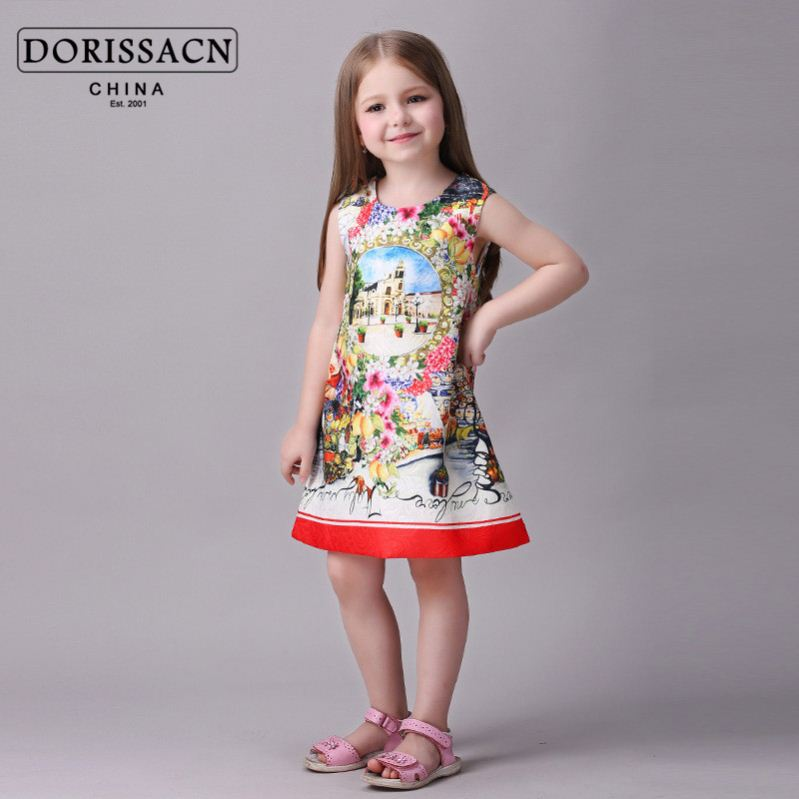 happy halloween store dress for 2-3 years old korean children's wear new fashion kids gir dress