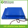 ultra-thin lifepo4 battery 2000 times deep cycle 12v 30ah for solar energy storage