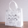 handy tote non woven bag with logo print for shopping