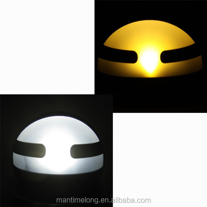Solar Garden Light Garden Solar Light Round Led Light Bright White ...