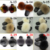 21 Pure Colors Girls Women Summer Fashion Real Fox Fur Slippers Sandals,Custom Fox Fur Slippers Slides