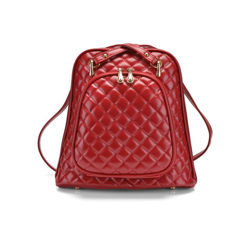 Get Quotations · Spiraea Lingge Backpack PU Leather Women Bag 2015 New  Fashion Preppy Style Designer Backpacks Bag Women 1fe455a9af448